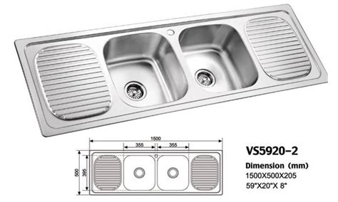 double kitchen sink dimensions double bowl kitchen sink double tray mamtus nigeria