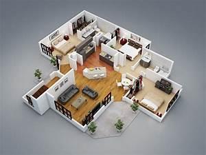 Plan 3d De Maison Gratuit