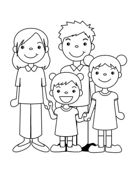 famiglia stilizzata disegno  pineglen