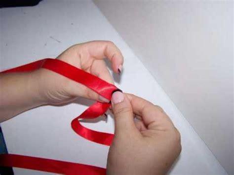 easy folded ribbon