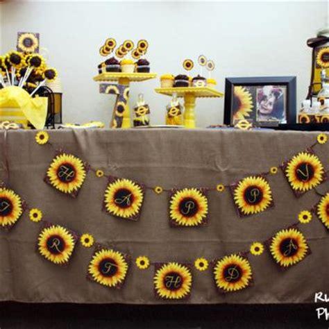 printable sunflower baby shower invitation template