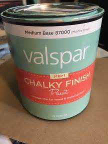 the dabbling crafter review of valspar chalk paint