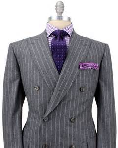 Double Breasted Chalk Stripe Suit