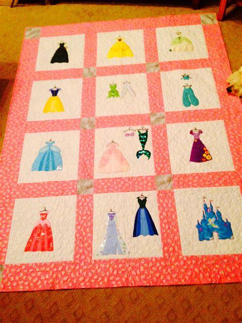 disney princess inspired applique quilt pattern instant etsy