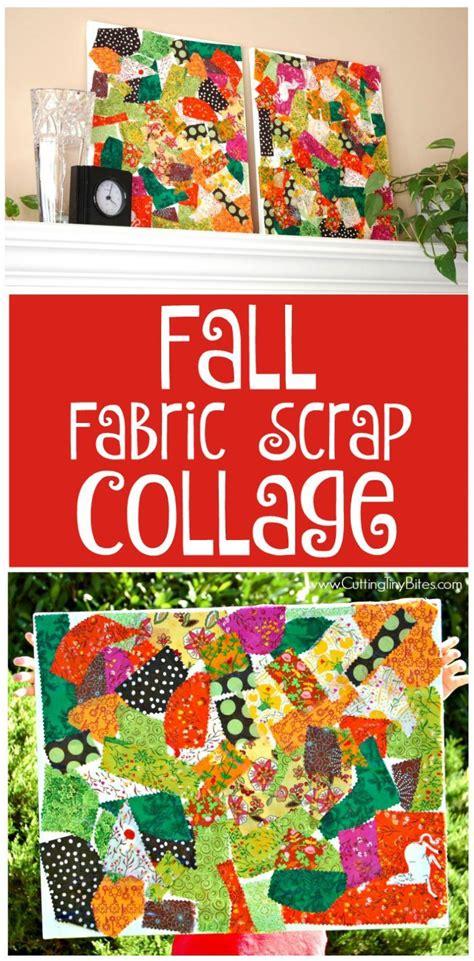 fall fabric scrap collage preschool activities 155 | 3f6242017c01321838d2606f3e965543