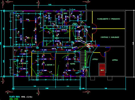 Shop Electrical Project Autocad Download Cad Free