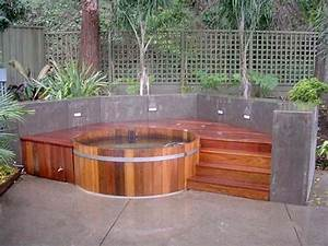 Cedar Hot Tub : natural cedar hot tubs for outdoors digsdigs ~ Sanjose-hotels-ca.com Haus und Dekorationen