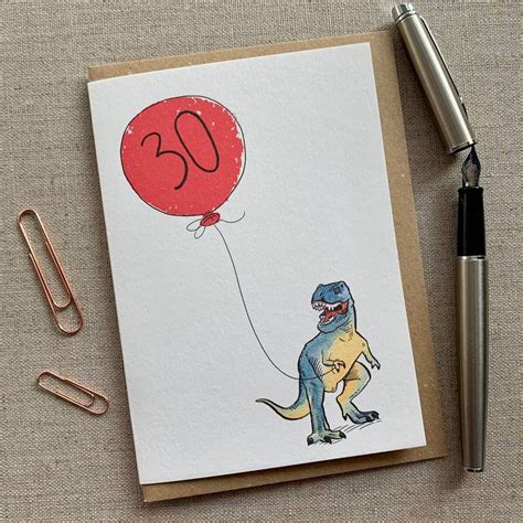 personalised dinosaur  birthday card  images