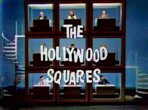 Hollywood Squares,The (Intro) S1 (1968) - YouTube