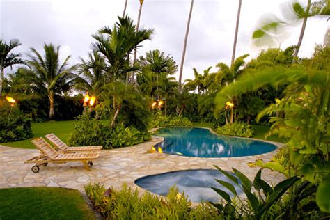 pool tropical landscaping ideas tropical landscaping ideas with pool for backyard felmiatika com