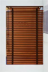 store dinterieur venitien a lames bois orientables a poser With porte de garage enroulable avec store venitien pour porte fenetre pvc
