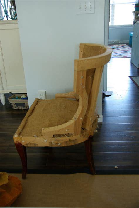 sew full reupholster chair