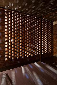 A, Creative, Brick, House, Controls, The, Interior, Climate, And, Looks, Amazing