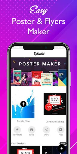 splendid poster maker   premium sap apkallcom