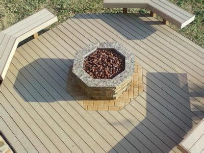 custom fire pit  archadeck  central sc enables
