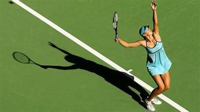 Tennis Wallpapers Court Sharapova Maria Backgrounds Desktop