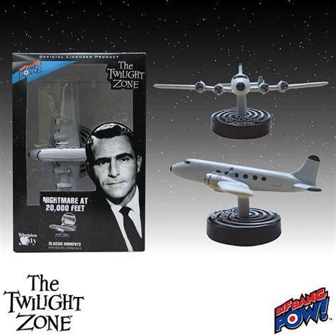 Twilight Zone Nightmare At 20,000 Feet Diorama Brand New