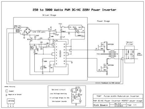 250 to 5000 watts pwm dc ac 220v power inverter genstr