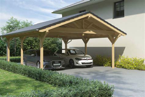 Satteldachcarport Aus Holz Online Konfigurieren Und Bestellen
