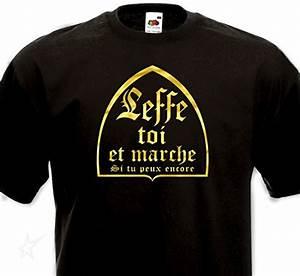 Tee Shirt Homme Humour : t shirt leffe toi et marche cadeau original insolite ~ Melissatoandfro.com Idées de Décoration