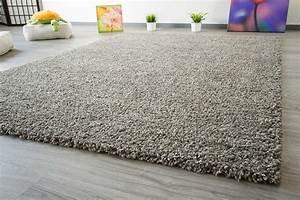 Teppich Schurwolle Grau : hochflor teppich funny soft touch global carpet ~ Whattoseeinmadrid.com Haus und Dekorationen