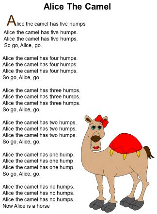 animal songs for preschool the camel printable lots of amazing crafts and 95968