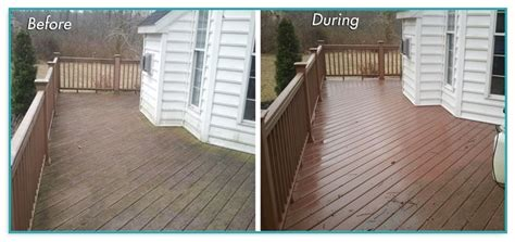 composite deck cleaning mold  home improvement