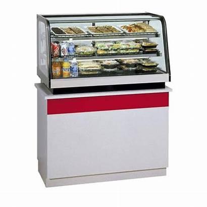 Countertop Refrigerated Federal Merchandiser Display Mount Rear