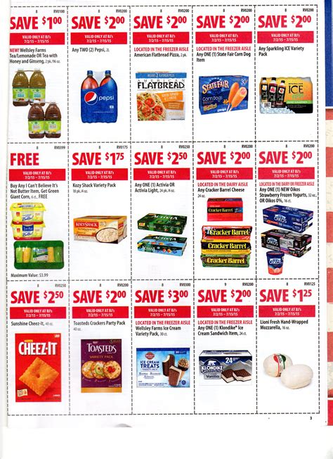 bjs printable coupons bj s front of coupons for 7 2 7 15 20619 | img999110