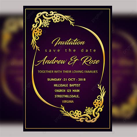 Wedding card free download & images collection: Royal Blue