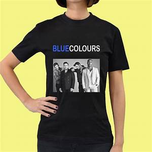 Blue boy band Colour Tour 2015 Womens Tee T - Shirt S M L ...