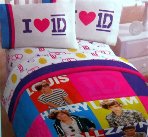 galleon one direction twin comforter and sheet set