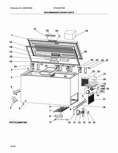 Crosley Cfce253tw0 Chest Freezer Parts