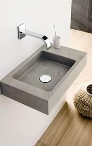 Waschbecken Gäste Wc Ideen : stein im bad extraklein waschbecken mini square waschbecken square und g ste wc ~ Sanjose-hotels-ca.com Haus und Dekorationen