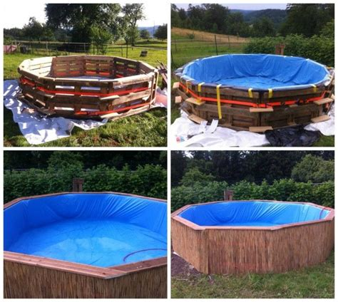 diy  pallet swimming pool outdoor diy pallet