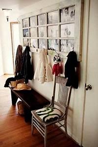 Alte Tür Als Garderobe : eine alte t r dient nun als garderobe tolle idee home decor home old doors ~ A.2002-acura-tl-radio.info Haus und Dekorationen