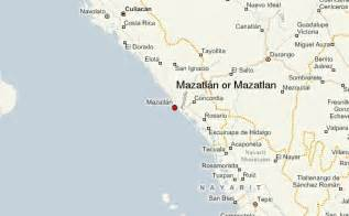 Mazatlan Sinaloa Mexico Map