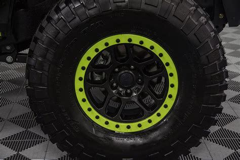 mopar beadlock wheels 2016 jeep wrangler rubicon unlimited hyper green