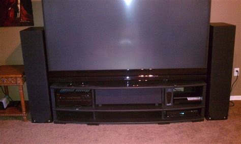 82 Mitsubishi Tv by Tv Stand For My Mitsubishi 82 738 Dlp Tv Avs Forum