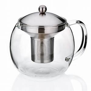 Teekanne Aus Glas Mit Sieb : teekanne glas affordable moderner stilvoller edelstahl ~ Michelbontemps.com Haus und Dekorationen