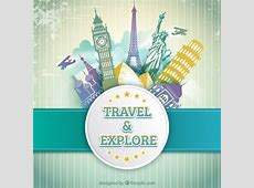 Travel and explore Vector Free Download