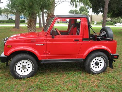 Suzuki Jeep For Sale 1986 suzuki samurai 4x4 jeep for sale show winner