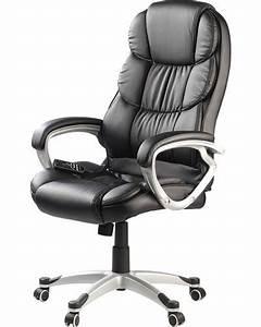 Fauteille De Bureau : fauteuil de bureau massant avec roulettes et 8 programmes de massage ~ Teatrodelosmanantiales.com Idées de Décoration
