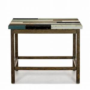 Table Alinea Bois : manaka table haute bar rectangulaire achat vente table ~ Teatrodelosmanantiales.com Idées de Décoration
