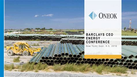 ONEOK (OKE) Presents At Barclays CEO Energy-Power ...