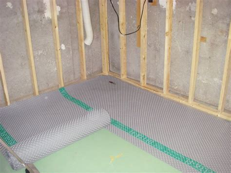 Basement sub floor « Greg MacLellan