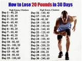 How do asians lose 20 pounds