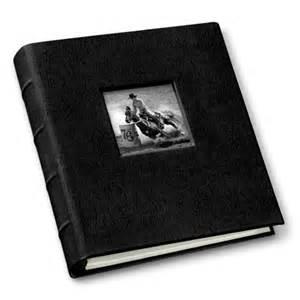 travel photo album 4x6 leather compact photo album with window gallery leather