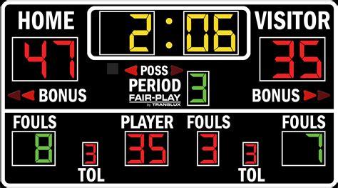 bb   fair play scoreboards