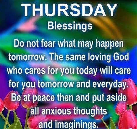 Thursday Morning Blessings Quotes